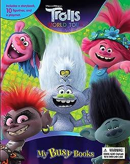 Trolls Frozen2 Toy Story Lion King Aladdin My Little Pony Set of 2 Busy Books