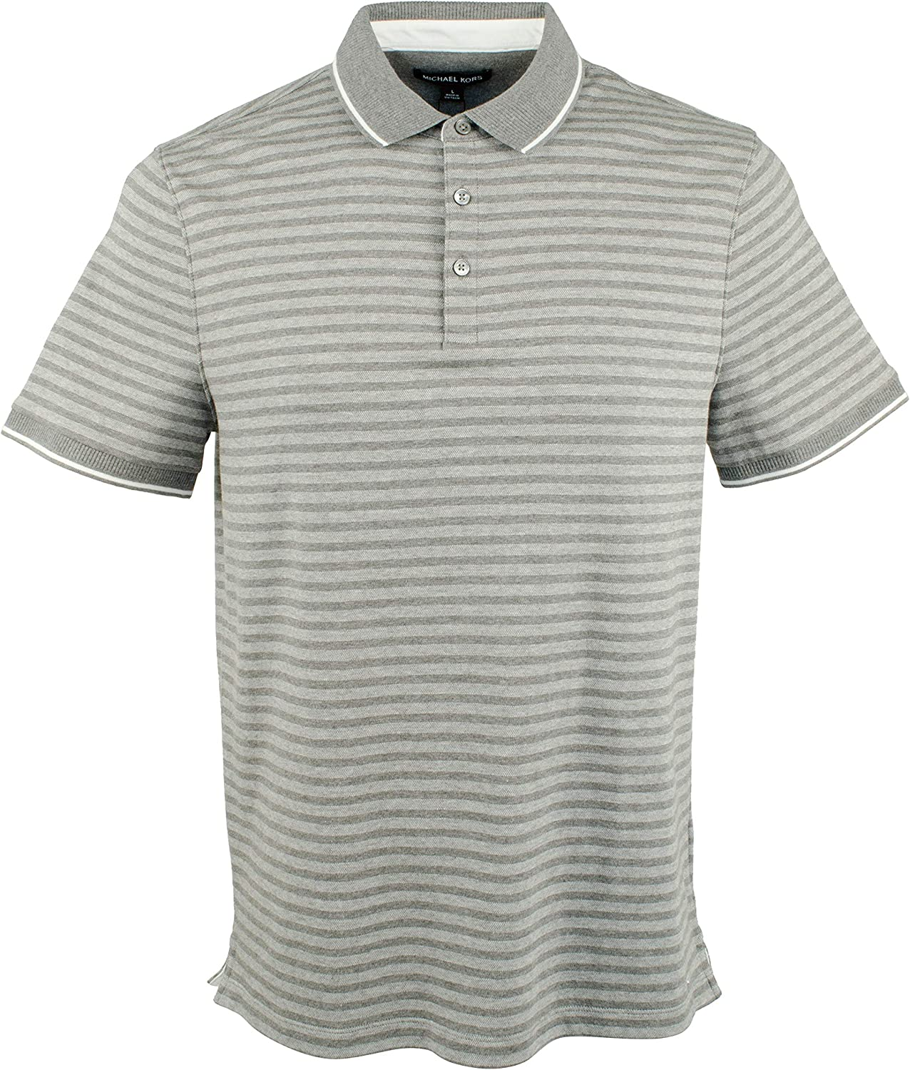 Max 53% OFF Michael Kors Men's Lyocell Sale special price Striped Shirt Polo