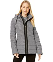 Kate Spade New York - Zip-Up Down Jacket