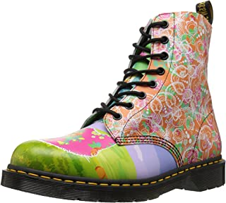 Dr. Martens Womens Pascal Daze in Backhand Leather Multi Size:
