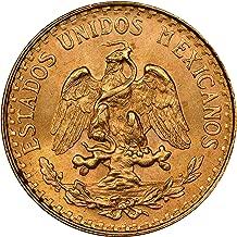 MX 10 Mexican Gold 2 Pesos Lot of (10) Brilliant Uncirculated