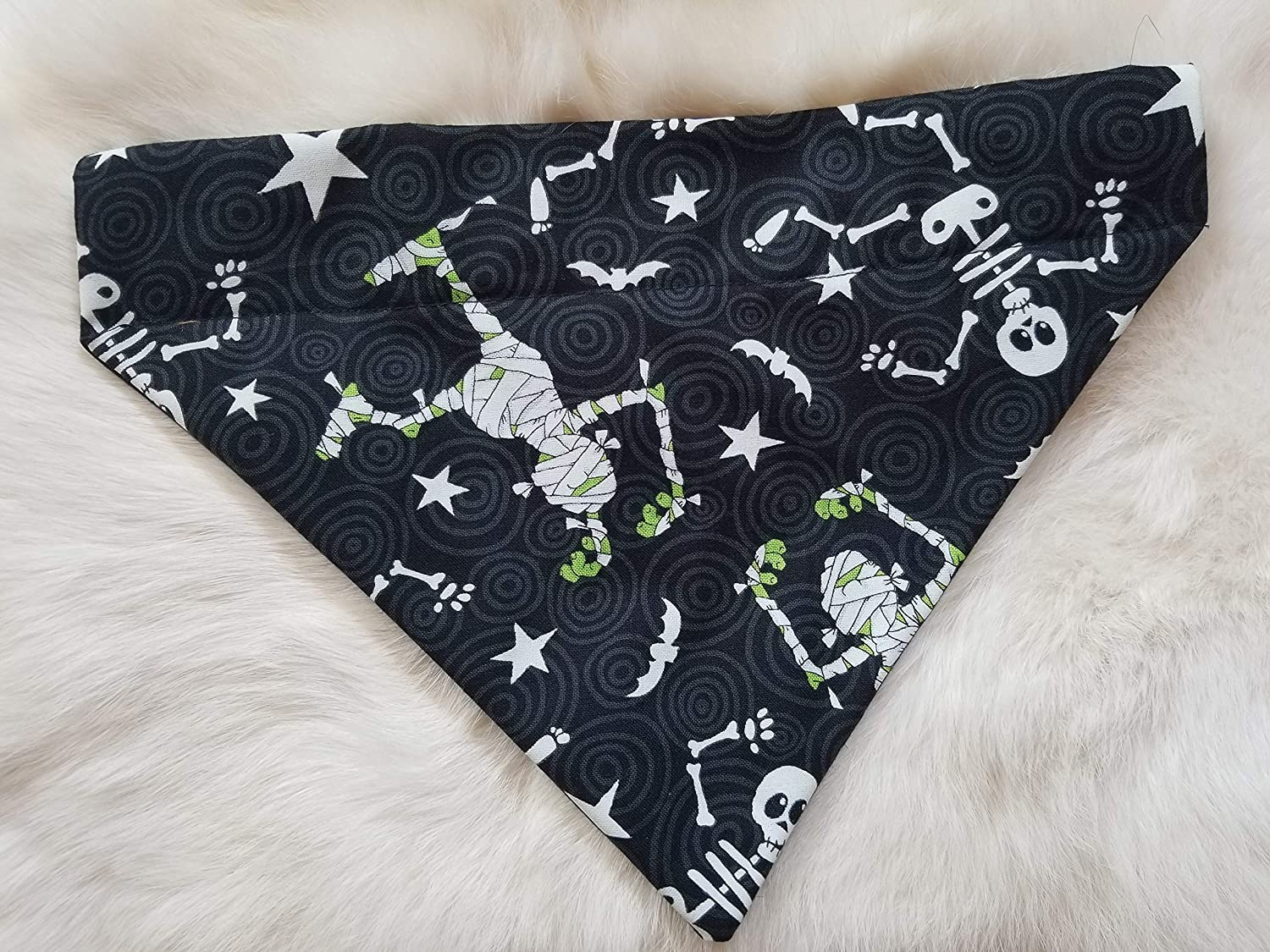 Dancing Skeleton's Popular shop is the New color lowest price challenge and Mummy's Over Large Dog Bandana Collar