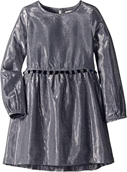 Metallic Silver Party Dress (Toddler/Little Kids/Big Kids)