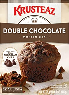 Krusteaz Double Chocolate Muffin Mix, 20-Ounces
