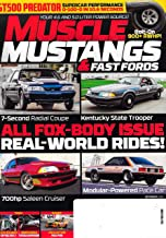 MUSCLE MUSTANGS & FAST FORDS Magazine (December, 2019) ALL FOX-BODY ISSUE, REAL WORLD RIDES