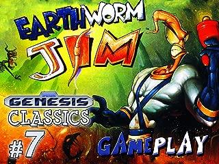Clip: Earthworm Jim Gameplay (Genesis Classics 7)