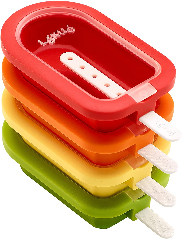 Los mejores moldes para paletas de hielo: Lékué Polo apilable mini