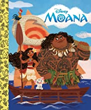 Moana Little Golden Board Book (Disney Princess) (Little Golden Board Books)