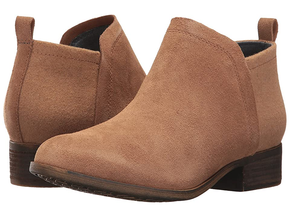 TOMS Deia Bootie (Toffee Suede/Wool) Women