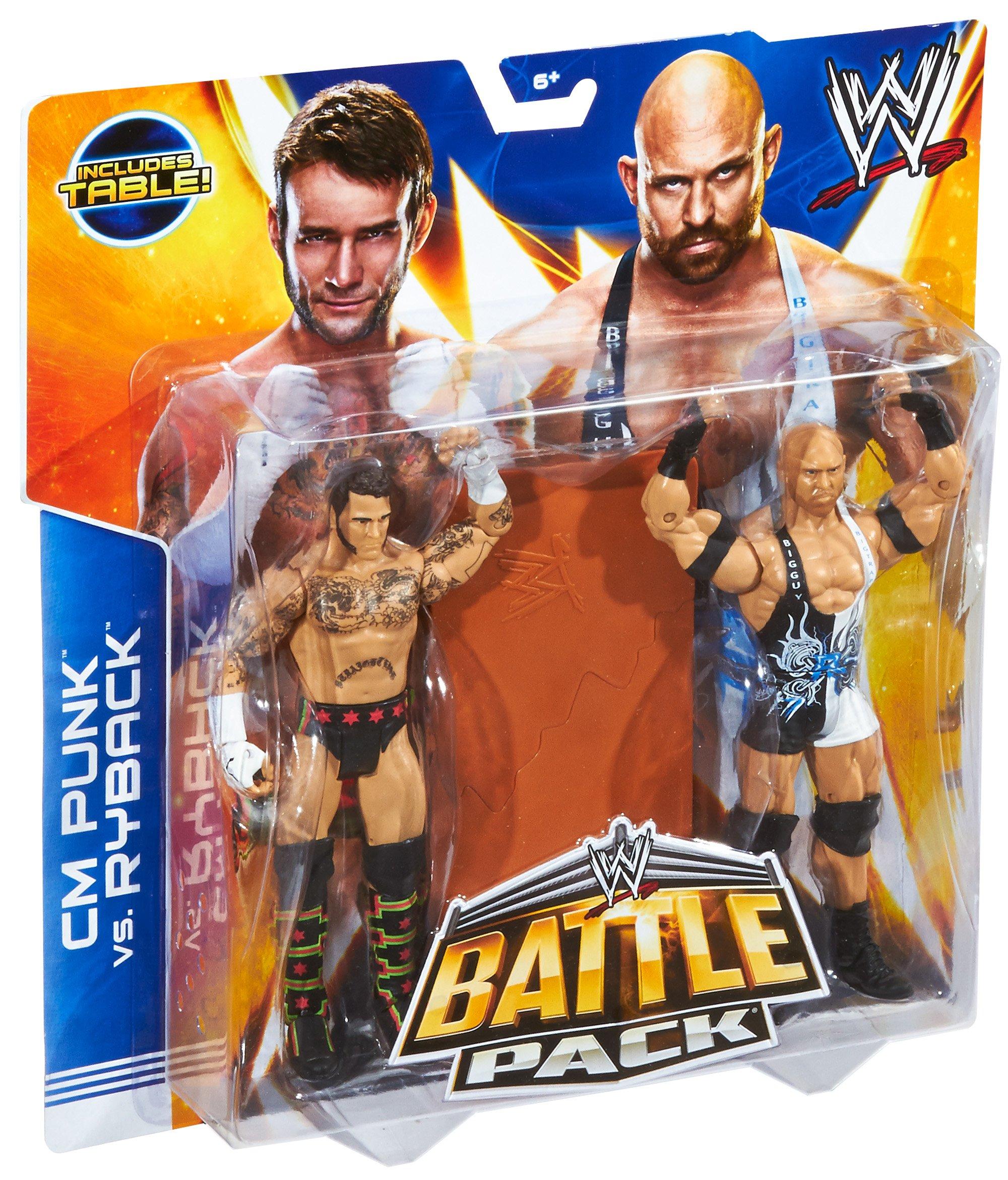 WWE Battle Pack Punk cm y Ryback: Amazon.es: Juguetes y juegos