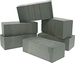 Bright Creations 6-Pack Floral Wet Foam Bricks for Flowers, 9 x 4 x 3 Inches