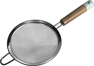Jamie Oliver Bakeware Range Sieve - Acacia 木和硅胶/港蓝色