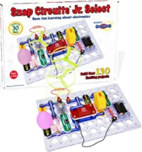 Snap Circuits Jr. Select SC-130 Electronics Exploration Kit   Over 130 Projects   Full Color Project Manual   30+ Parts   ...