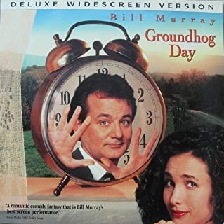 Ground Hog Day Laserdisc starring Bill Murray - Deluxe Widescreen Edition - laserdisc Extended Play CLV
