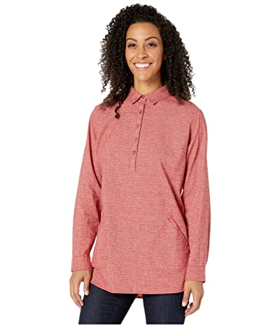 Royal Robbins Hemp Blend Long Sleeve (Brick Red) Women