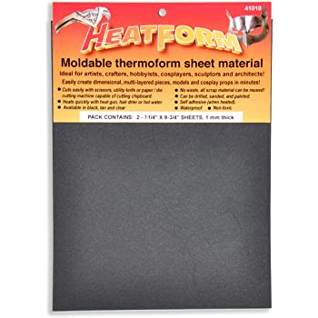 1 mm thick x 19 5//8 x 29.5 Tan Environmental Technology 41130 Heatform Moldable Thermoplastic Sheets
