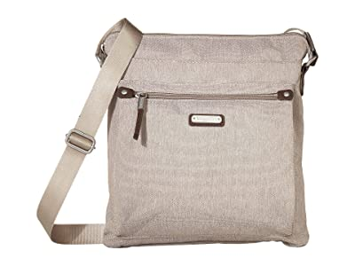 Baggallini New Classic Go Bagg with RFID Phone Wristlet (Sand Heritage) Bags