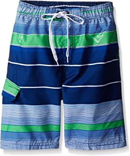 Kanu Surf Little Boys' Specter Stripe Swim Trunk