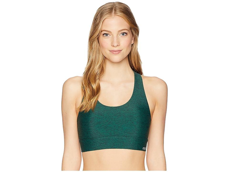 Lorna Jane Flex Sports Bra (Bottle Green Marl) Women