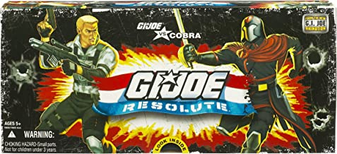 GI JOE vs. Cobra RESOLUTE 3 3/4 inch Action Figure Collector 5 Pack