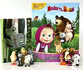 Masha and The Bear My Busy Book