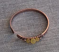 antique copper bracelet