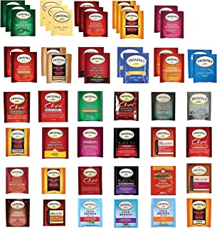 Twinings Black Tea Bags Sampler Assortment Variety Pack Gift Box - 48 Count - Perfect Gifts Variety for Christmas , Women ...