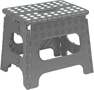 Superior Folding Step-Stool 13 Inch (Grey)