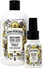 Poo-Pourri Original 16-Ounce Refill Bottle and 1.4-Ounce Original