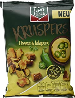 funny-frisch Kruspers Cheese & Jalapeno Style, 10er Pack 10 x 120 g