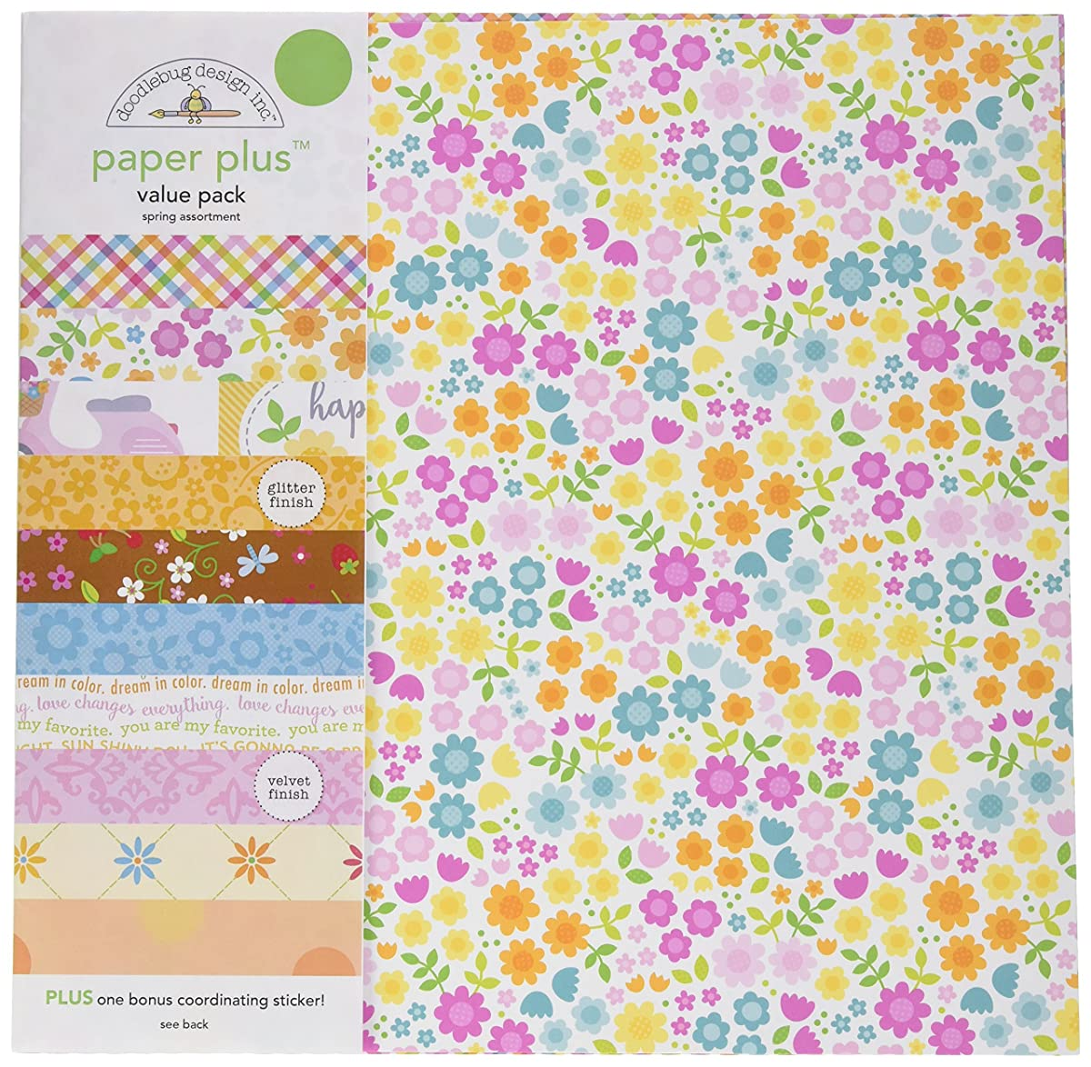 DOODLEBUG 5175 Paper Plus Value Supplies (12 Pack), 12