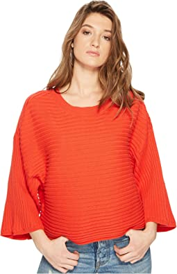 Claudel Rib Stitch Wide Rib Sweater