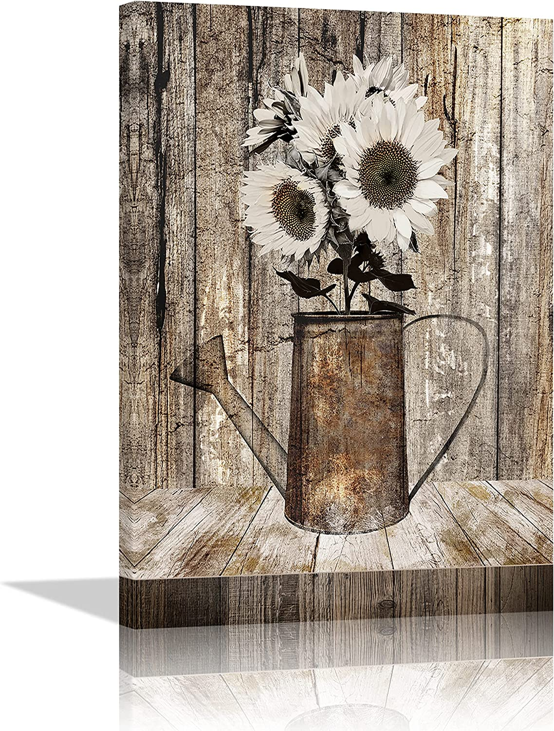 Country Sunflower Wall Art Decor for Home Bombing free shipping Farmhouse Soldering Rustic