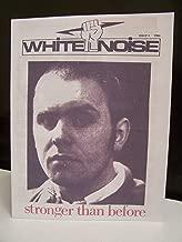 White Noise Issue No. 1 1986 Ian Stuart Skrewdriver Skinhead Magazine Skinzine (1)