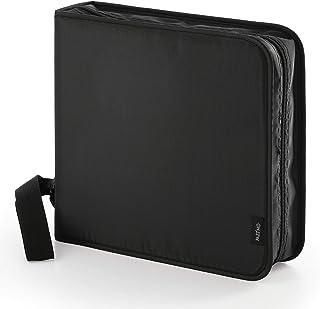 Pazzimo Porta CD para 208 Discos de DVD/CD/BLU-Ray - Estuche Organizador transportable para Guardar CDs con Fundas Protect...