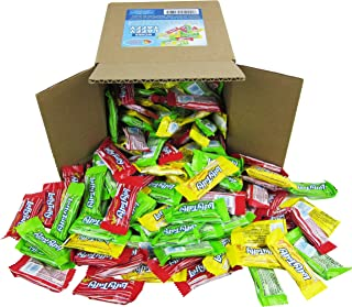 Laffy Taffy Assorted Fruit Flavors, Cherry Green Apple Banana Candy Bulk Party Box - 6x6x6 Family Size