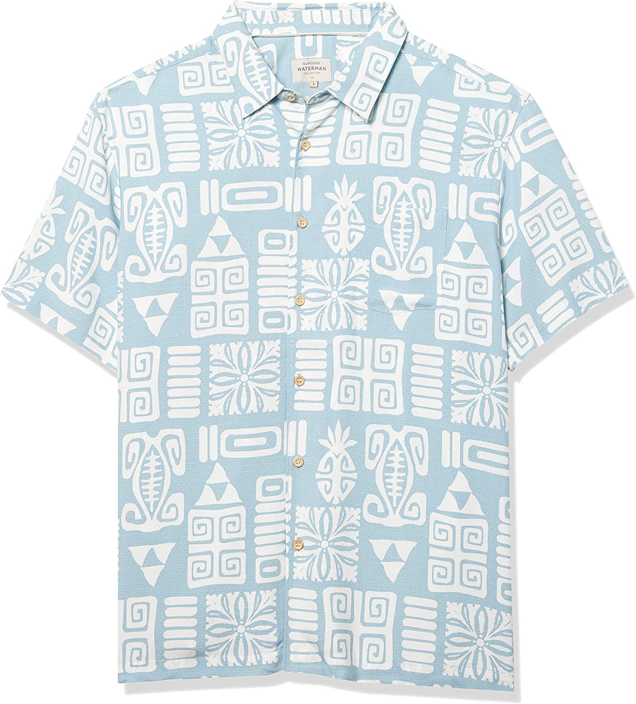 Quiksilver Apaki Atoll Woven Camisa para Hombre: Amazon.es ...