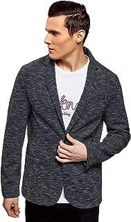 oodji Ultra Men's Buttoned Jersey Cardigan