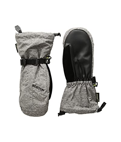 Burton Kids GORE-TEX(r) Mitt (Little Kids/Big Kids) (Monument Heather) Snowboard Gloves