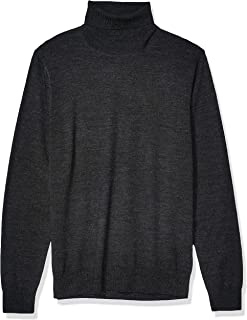 Men's Merino Wool/Acrylic Turtleneck Sweater