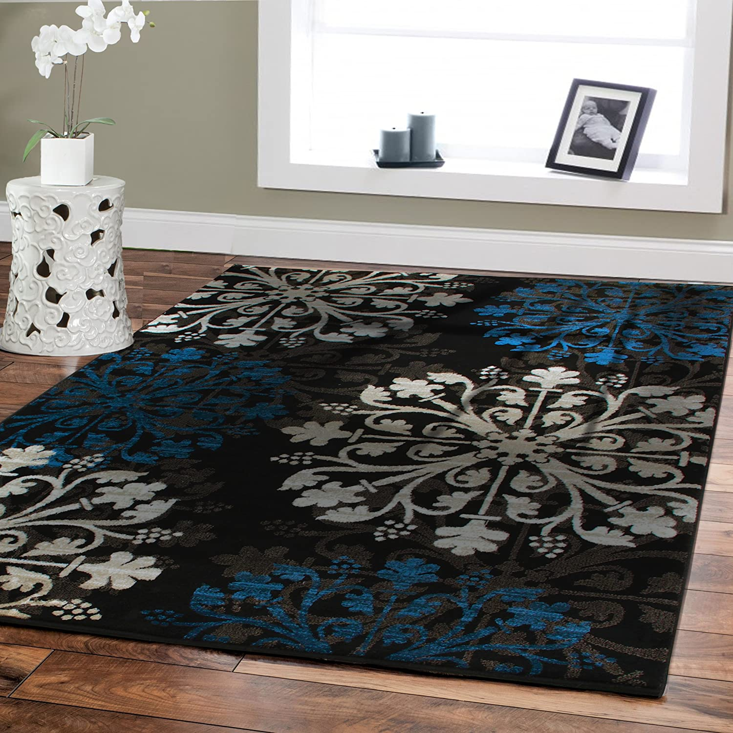 New Small Rug For Bedroom Black 2x3 Foyer Rug Indoor Area Rugs Clearance Beige Black Cream Brown Blue Carpet For Kitchen 2 By 4 Front Door Mats Bathroom Carpet