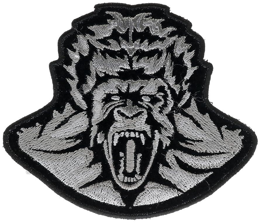 Gorilla Zombie 4 inch iron on Patch IVANP4365
