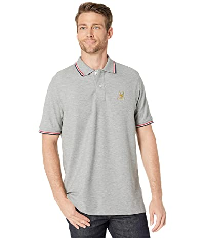 Psycho Bunny St Lucia Polo (Heather Grey) Men