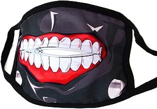 papapanda Boca Máscara Cremallera Tokyo Ghoul Ken Kaneki