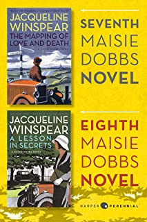 Maisie Dobbs Bundle #3: The Mapping of Love and Death and A Lesson in Secrets: Books 7 and 8 in the New York Times Bestsel...