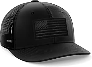 The Fighting Forces American Flag USA Snapback Cap
