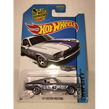 hot wheels 67 ford mustang coupe ZAMAC 50 years RARE hw city 93//250 zamac 2014