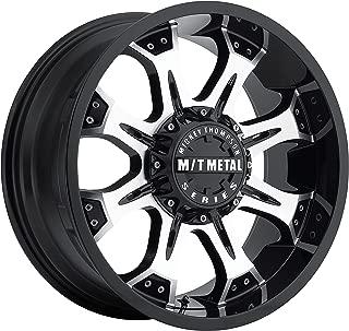Mickey Thompson M/T Metal Series MM-164M Piano Black Wheel with Diamond Cut Accents (18x9