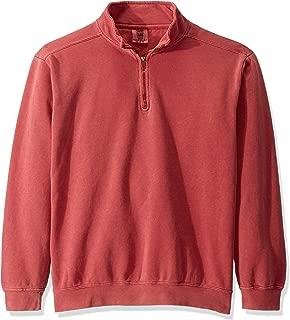 Men's Adult 1/4 Zip Sweatshirt, Style 1580
