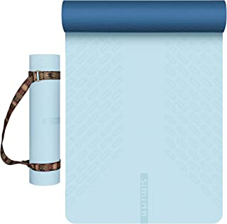 SIMIAN Yoga Mat for Women (6'x2'x6mm), Non-slip Premium...